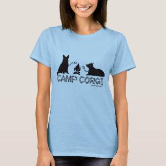 Campo T cabido Corgi Camiseta
