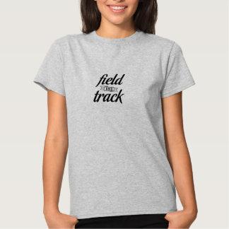 Campo y pista camisetas