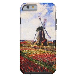 Campos de los Monet-Tulipanes de Claude Funda Resistente iPhone 6