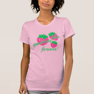 campos *strawberry para siempre camiseta