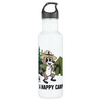 Campout americano de Rick el | del guardabosques Botella De Agua