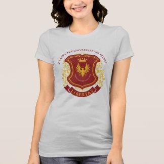 Campus del cc Salem Libertas - escudo del mismo Camiseta