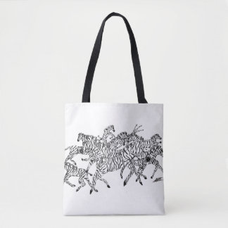 Camuflaje de la confusión de la cebra - la bolsa