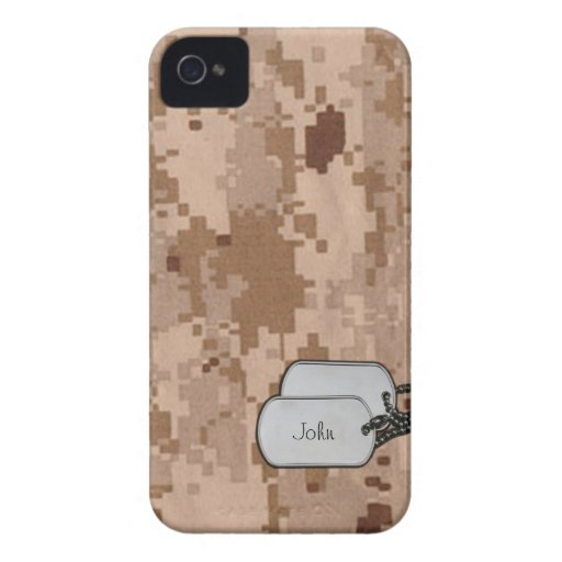 Camuflaje de los militares de Digitaces del desier iPhone 4 Coberturas