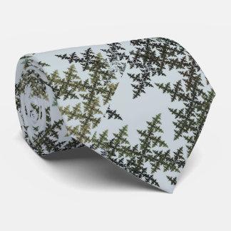 Camuflaje del fractal - invierno corbatas personalizadas