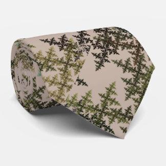 Camuflaje del fractal - verano corbatas personalizadas