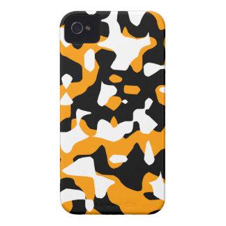 Camuflaje del tigre 80s Camo de Corey iPhone 4 Cobertura