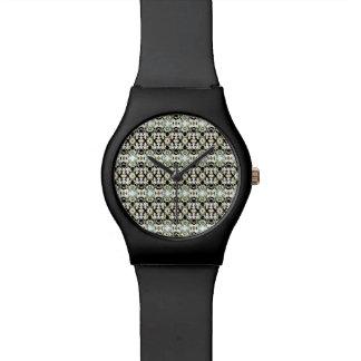 Camuflaje étnico abstracto reloj de pulsera