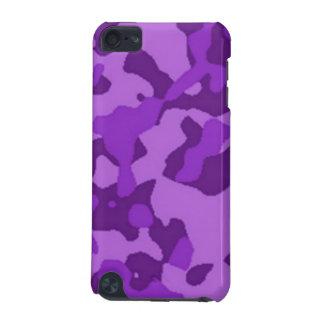 Camuflaje púrpura funda para iPod touch 5G
