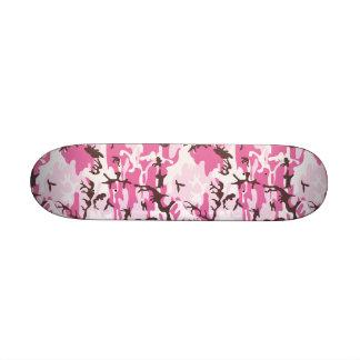 Camuflaje rosado 7 1 4 monopatín