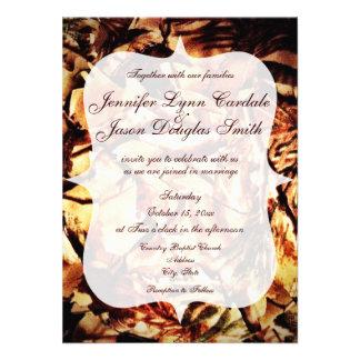 Camuflaje rústico del país de las invitaciones del invitacion personalizada