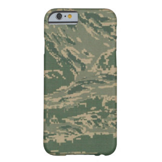 Camuflaje verde militar Barely There de los Funda Para iPhone 6 Barely There