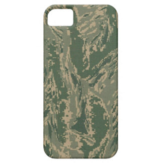 Camuflaje verde militar Barely There de los iPhone 5 Case-Mate Fundas