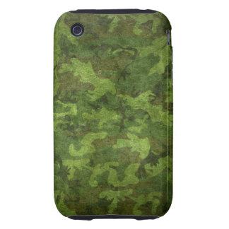 camuflaje verde militar iPhone 3 tough cobertura