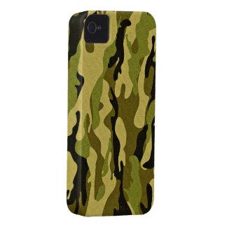 camuflaje verde militar iPhone 4 Case-Mate protector