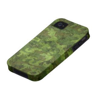 camuflaje verde militar Case-Mate iPhone 4 funda