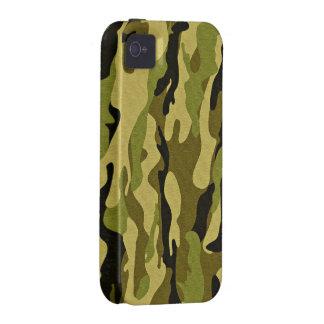 camuflaje verde militar iPhone 4/4S fundas