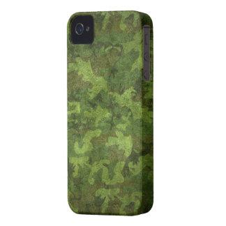 camuflaje verde militar iPhone 4 carcasas
