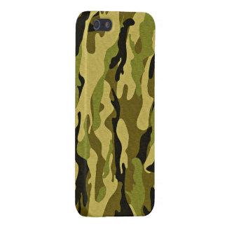 camuflaje verde militar iPhone 5 cobertura