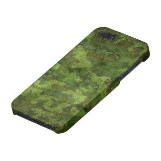 camuflaje verde militar iPhone 5 carcasa