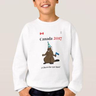 Canadá 150 en 2017 alegrías del fiesta 3 del sudadera