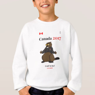 Canadá 150 en 2017 fresco como hielo sudadera