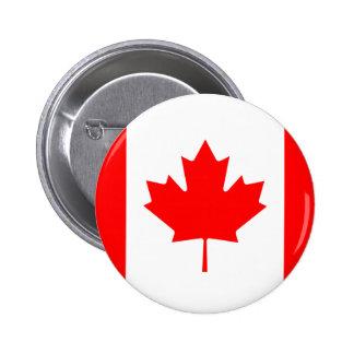 Canadá - bandera canadiense pin