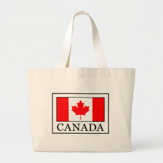 Canadá Bolso De Tela Gigante