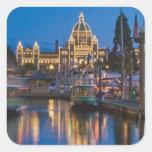 Canadá, Columbia Británica, Victoria, interno Colcomanias Cuadradas Personalizadas