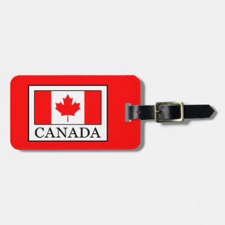 Canadá Etiqueta Para Maletas