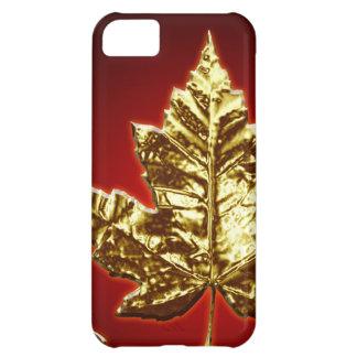 Canadá fresco IPhone 5 regalos de la hoja de Funda Para iPhone 5C
