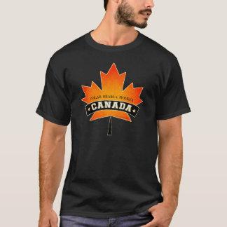 CANADÁ - OSOS POLARES y HOCKEY Carolyn Sandstrom Camiseta