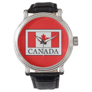 Canadá Reloj De Pulsera