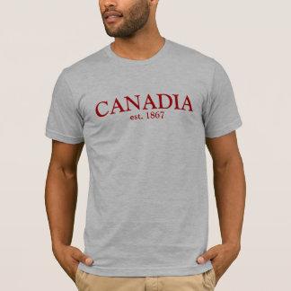 Canadia est 1867 camiseta