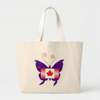 Canadian Diva Butterfly Tote Bag