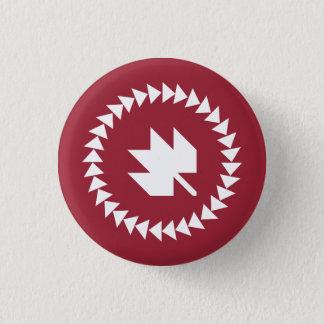 Canadienses en el botón de QuiltCon