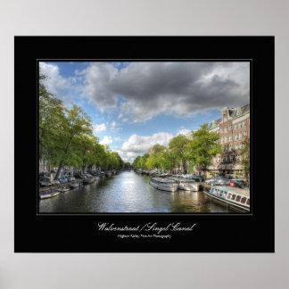 Canal Amsterdam - galería de Wolvenstraat/de Singe Posters