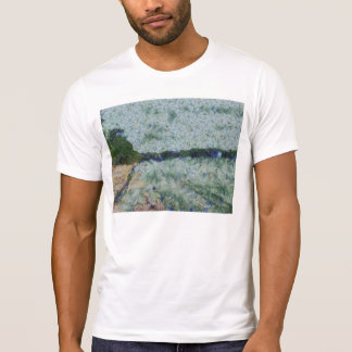Canal de irrigación camisetas