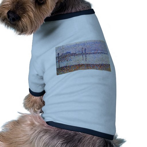 Canal de Jorte Seurat-The en Gravelines, igualando Camisetas Mascota