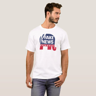 Canal de noticias falso - camiseta