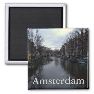 Canal de Prinsengracht, Amsterdam Imanes