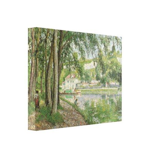 Canal du Loing 1902 de Camille Pissarro - de Moret Lona Envuelta Para Galerías