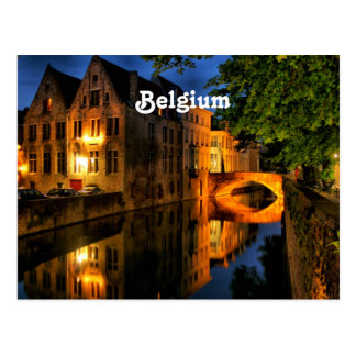 Canal en Bélgica Postal