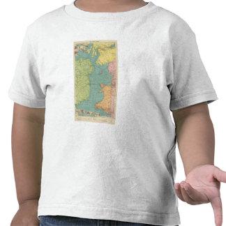 Canal irlandés camisetas