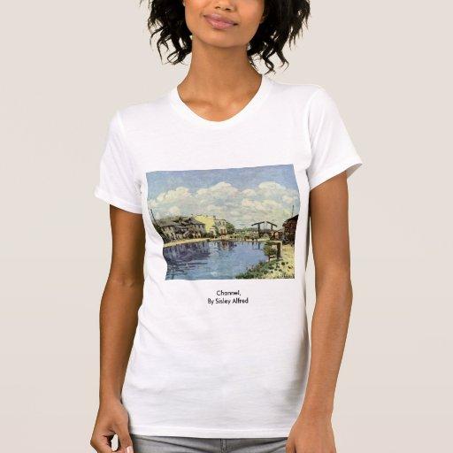 Canal, por Sisley Alfred Camiseta