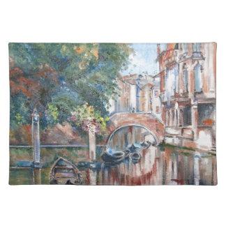 Canales de Venecia Salvamanteles
