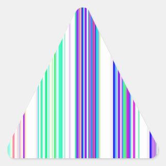 Canales reconstruidos pegatinas trianguloes