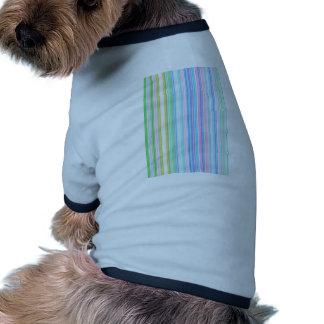 Canales reconstruidos camiseta de perro