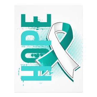 Cáncer de cuello del útero de la esperanza 2 folleto 21,6 x 28 cm