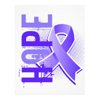Cáncer de estómago de la esperanza 2 folleto 21,6 x 28 cm